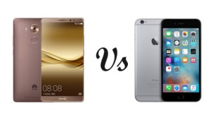 Huawei Mate 8 Vs iPhone 6s Plus