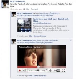 Di Facebook Bisa Komentar Pakai Video Loh!