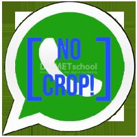 Cara Mengatur Gambar Profil Whatsapp Tanpa Di Crop.