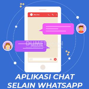 3 Rekomendasi Aplikasi Chat Selain WhatsApp